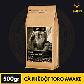 Biểu đồ lịch sử biến động giá bán [500GR] Cà Phê Bột TORO AWAKE – Vị đắng mạnh mẽ, chua thoáng, đậm đà –Cà phê pha phiên thật 100% nguyên chất không pha trộn – TORO COFFEE – TORO FARM