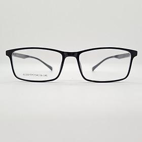 Gọng kính nam, nữ dáng vuông, nhựa Tr90, kiểu dáng đơn giản, hiện đại-A1309