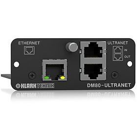 Klark Teknik DM80-ULTRANET Expansion Module with 16x16 Channel Audio Networking & Ethernet-Hàng Chính Hãng