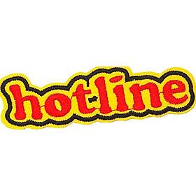 Patch ủi sticker vải - Hotline