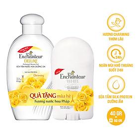 Sáp khử mùi Enchanteur Charming 40g - Tặng sữa tắm 60g SMP 2021