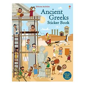 Usborne Ancient Greeks Sticker Book