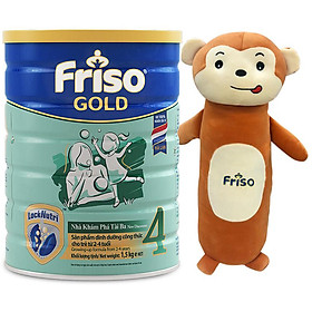 Sữa Bột Friso Gold 4 Cho Trẻ Từ 2-4 Tuổi 1.5kg + Tặng gối ôm hình thú Friso