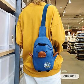 Túi đeo chéo họa tiết vịt cực đáng yêu-2