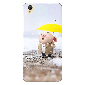 Ốp lưng dẻo cho điện thoại Oppo Neo 9 (A37) _0385 Pig 25 - Hàng Chính Hãng
