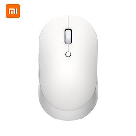 Xiaomi Dual Mode Silent Wireless Mouse 2.4G Mi Silent Laptop Mouse with USB Receiver-Enjoy Noiseless Clicking Portable