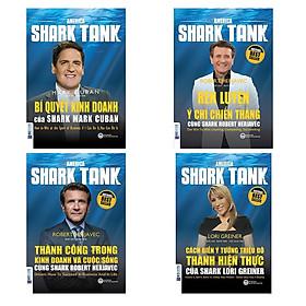 Combo 4 Cuốn Shark Tank (Bí Quyết Kinh Doanh + Rèn Luyện Ý Chí Chiến Thắng + Thành Công Trong Kinh Doanh Và Cuộc Sống + Cách Biến Ý Tưởng Triệu Đô Thành Hiện Thực) (Tặng kèm bút chì Kingbooks)