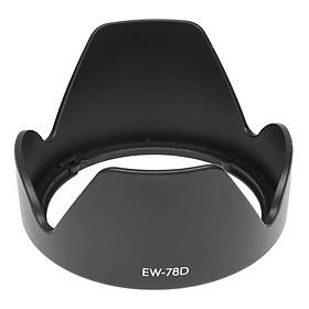 Loa che nắng hood EW-78D ống kính Canon EF-S 18-200mm