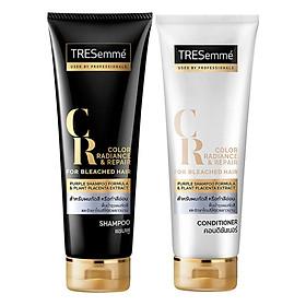 Dầu Gội Xả Dành Cho Tóc Tẩy Tresemmé Color Radiance & Repair For Bleached Hair (250ml) - Tặng Kèm Dầu Xả Tresemmé Dành Cho Tóc Tẩy Color Radiance & Repair For Bleached Hair (250ml)