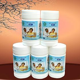 05 Bột dinh dưỡng X5 Cho người cao tuổi, tiểu đường giúp Ổn định huyết áp, ổn định đường huyết, khỏe tim mạch, ngủ ngon