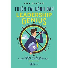 Sách - Thiên tài lãnh đạo (tặng kèm bookmark thiết kế)
