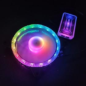 Quạt Tản Nhiệt, Fan Case KNC Diamond V2 Led RGB Dual Ring, chưa kèm bộ Hub khiển RGB