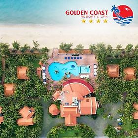 [2021] Golden Coast Resort & Spa 4* Phan Thiết - Gói Ăn 03 Bữa, Hồ Bơi, Bãi Biển Riêng, Gần Kê Gà, Nhiều Ưu Đãi Hấp Dẫn