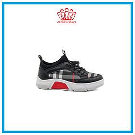 Giày Sneaker Bé Trai Đi Học Cổ Thấp Crown Space UK Active Trẻ em Cao Cấp CRUK8025 Siêu Nhẹ Êm Size 28-37