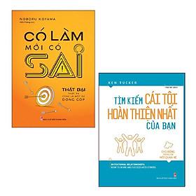 Sách Minh Long - Combo: Có Làm Mới Có Sai + Tìm Kiếm Cái Tôi Hoàn Thiện Nhất Của Bạn
