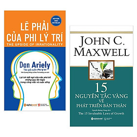 Combo Sách Tư Duy - Kỹ Năng Sống:  Lẽ Phải Của Phi Lý Trí + 15 Nguyên Tắc Vàng Về Phát Triển Bản Thân - (Top Sách Bán Chạy Nhất / Tặng Kèm Bookmark Greenlife)