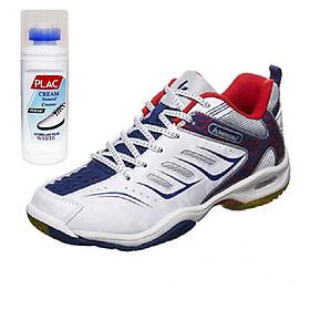 Giày thể thao Kawasaki Chính hãng K156 màu trắng, tặng bình làm sạch giày cao cấp