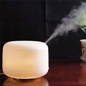 Máy Phun Sương, Tạo Độ Ẩm 500ML Có Đèn Led 7 Chế Độ Màu