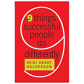 Nine Things Successful People Do Differently (Hardback)