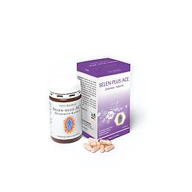 Selen Plus ACE (Hộp 60 viên) - Hỗ trợ tăng cường sức đề kháng, cải thiện nội tiết tố nữ, chống gốc tự do, chống oxy hóa, làm đẹp da, giúp tóc chắc khỏe - Thực phẩm chức năng thương hiệu Sanct Bernhard