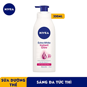 Sữa Dưỡng Thể Giúp Sáng Da Instant White Nivea SPF30 PA++ 88320 (350ml)