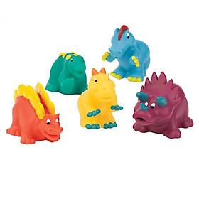 Đồ chơi BATTAT Bộ đồ chơi nhà tắm - khủng long BT2604Z