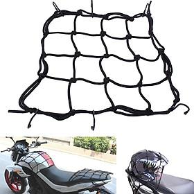 Lưới ràng buộc hàng đồ xe máy và hành lý xe máy, xe mô tô 40x40cm Mai Lee - Hàng chính hãng