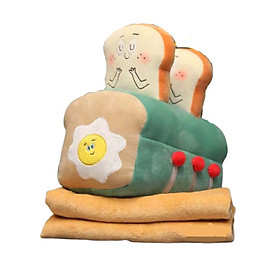 Gối mền máy nướng bánh sandwich - Xanh lá cây - NHÓC