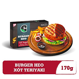 Burger Heo Xốt Teriyaki G Kitchen (170g)