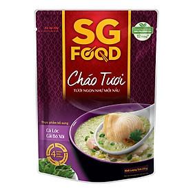 Hình đại diện sản phẩm Cháo Tươi Cá Lóc Cải Bó Xôi SG Food (270g)