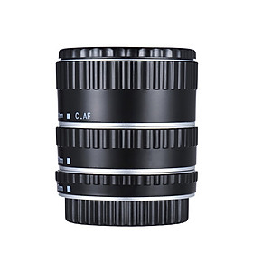 Metal Mount Lens Adapter Auto Focus AF Macro Extension Tube Ring for Canon EOS EF-S Lens 750D 80D 7D T6s 60D 7D 550D 5D Mark IV