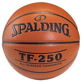 Bóng rổ Spalding TF 250 All Surface- Indoor/Outdoor- size 7 + Kim bơm bóng và túi lưới đựng bóng