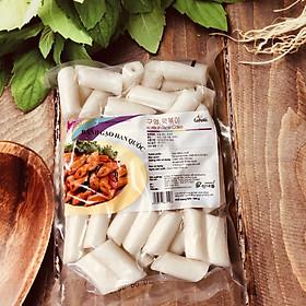 500g bánh gạo Topokki dạng ống Hàn Quốc