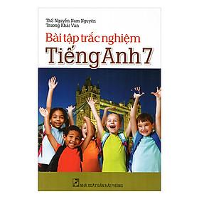 Bài Tập Trắc Nghiệm Tiếng Anh Lớp 7