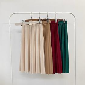 Chân váy xếp ly 7 MÀU kèm đai nhiều màu hàng đẹp