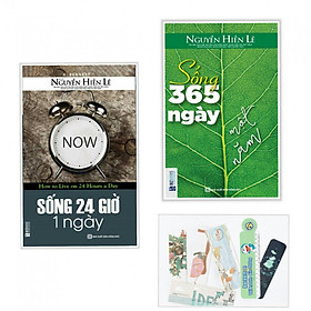 Combo 24 giờ 1 ngày +sống 365 ngày một năm (bản đặc biệt tặng kèm bookmark AHA)