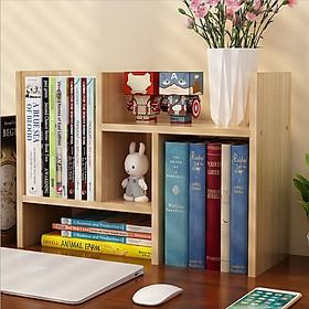 Kệ đựng sách vở để trên bàn làm việc hoặc bàn học, chất liệu gỗ cao cấp. Dễ dàng lắp ráp và vận chuyển.