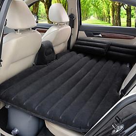 Đệm, giường hơi trên ô tô, xe hơi kèm gối + tặng kèm bơm A1SKY