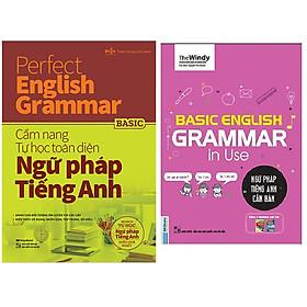 Combo Basic English Gramma In Use: Ngữ Pháp Tiếng Anh Căn Bản (Phiên Bản Chibi)+Perfect English Grammar - Cẩm Nang Tự Học Toàn Diện Ngữ Pháp Tiếng Anh - Basic