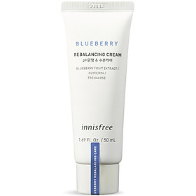Kem Dưỡng Ẩm Từ Blueberry Innisfree Blueberry Rebalancing Cream 50ml - 131171585
