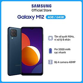 Điện Thoại Samsung Galaxy M12 (4GB/64GB) - Hàng Chính Hãng
