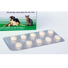 Xổ giun Hanpet - Thuốc tẩy giun sán chó mèo dạng viên