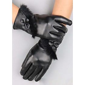 Găng tay nữ cảm ứng giữ nhiệt chống nước