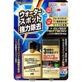 Dung Dịch Tẩy Ố, Tẩy Nano, Phục Hồi Kính Glass Stain Cleaner G-73 Soft99 Japan 80ml