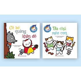 [Download sách] Combo Sách Lật Giở - Cổ Tích Mèo Cải Biên