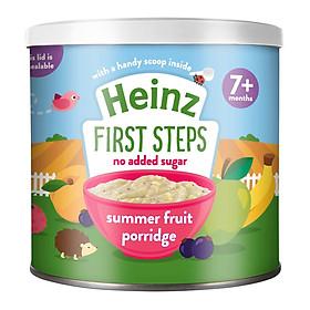 Bột ăn dặm trái cây mùa hè Heinz (240gr) cho bé 7 tháng