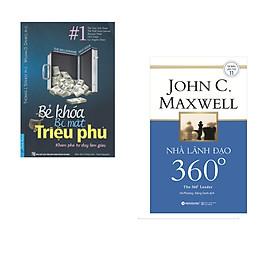 Combo 2 cuốn sách: Bẻ Khóa Bí Mật Triệu Phú + Nhà lãnh đạo 360