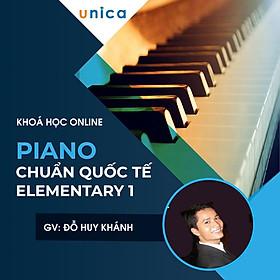 Khóa học PHONG CÁCH SỐNG- Piano chuẩn Quốc tế Elementary 1 UNICA.VN