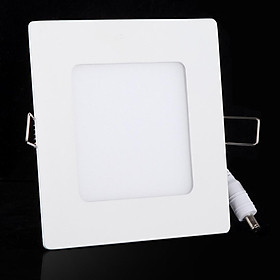 6W Ac 86-265V Ultra-Thin Square Ceiling Panel Wall Lamp Concave Lamp 390Lm Smd2835 Led Pure White