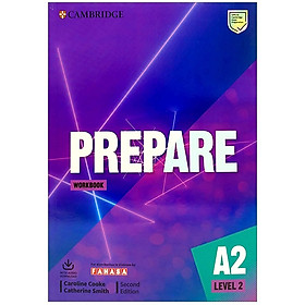 Prepare A2 Level 2 Workbook With Audio Download